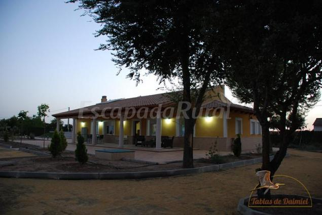 Atardecer : : Casa Rural Tabla...