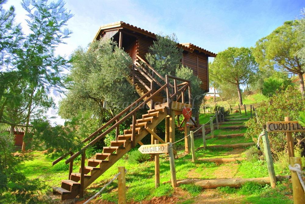 Fotos de el mirador de la mancha casa rural en - Casitas en el arbol ...