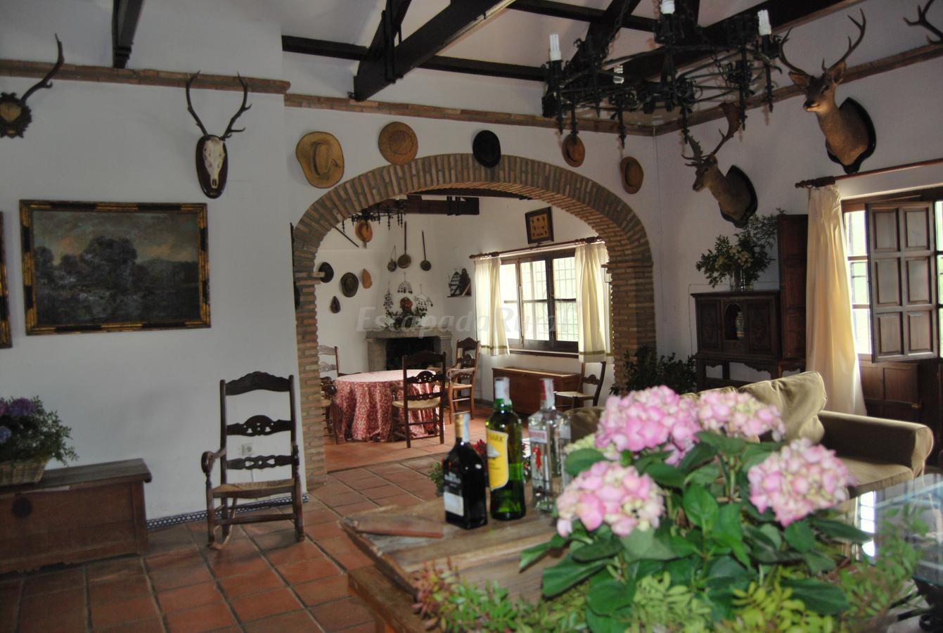 Interior r stico for Diseno de interiores andalucia