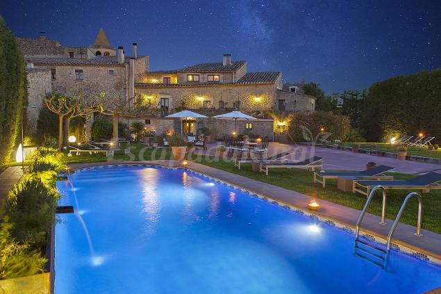 Hotel con encanto el rac de madremanya casa rural en madremanya girona - Hoteles cerca casa campo madrid ...