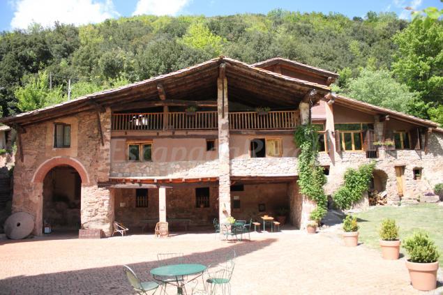 Casa rural can sol casa rural a la vall de bianya girona - Casa lloguer girona ...