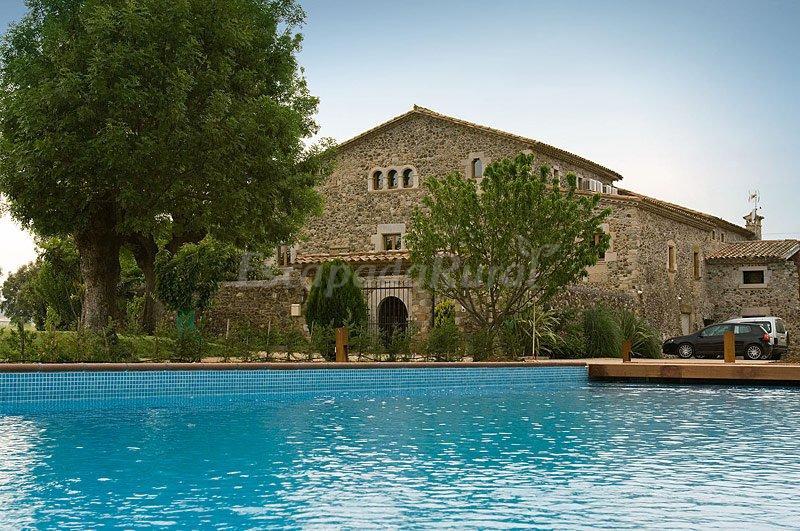 Fotos de mas la casassa casa rural en sant gregori girona for Casas rurales cerca de piscinas naturales
