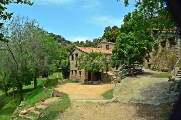 Mas colltort casa rural en sant feliu de pallerols girona - Casa rural mas rosello ...