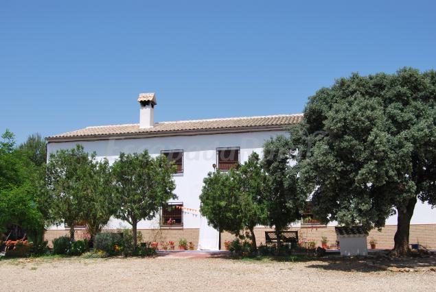 Cortijo casa nueva de los durmientes casa rural en loja for Piscina loja granada