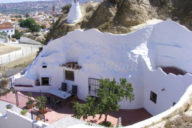 Cueva almendro casa rural en guadix granada - Casa rural guadix granada ...