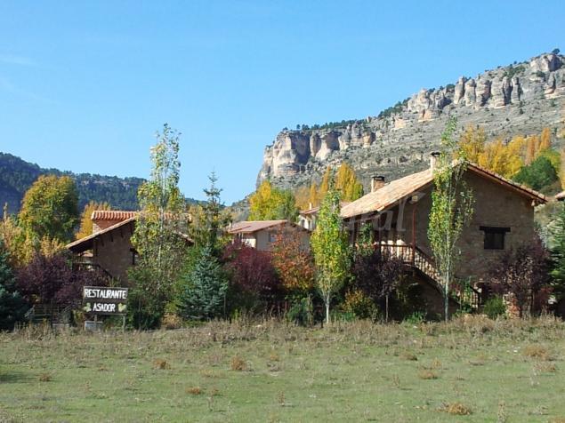 Acebos del tajo casa rural en peralejos de las truchas guadalajara - Casas rurales guadalajara baratas ...