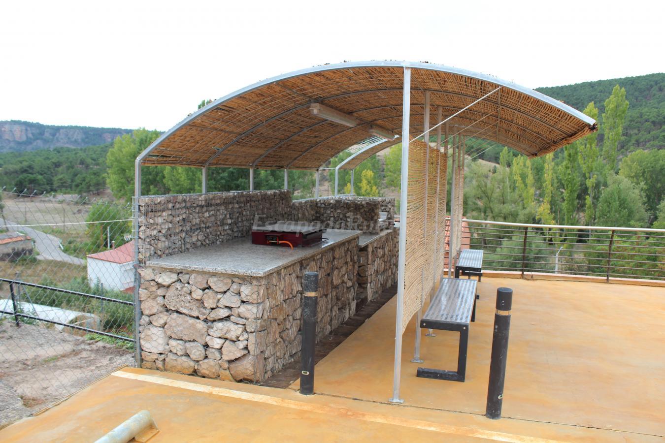 Fotos de apartamentos rurales de la sexma del sabinar - Cocinas de exterior con barbacoa ...