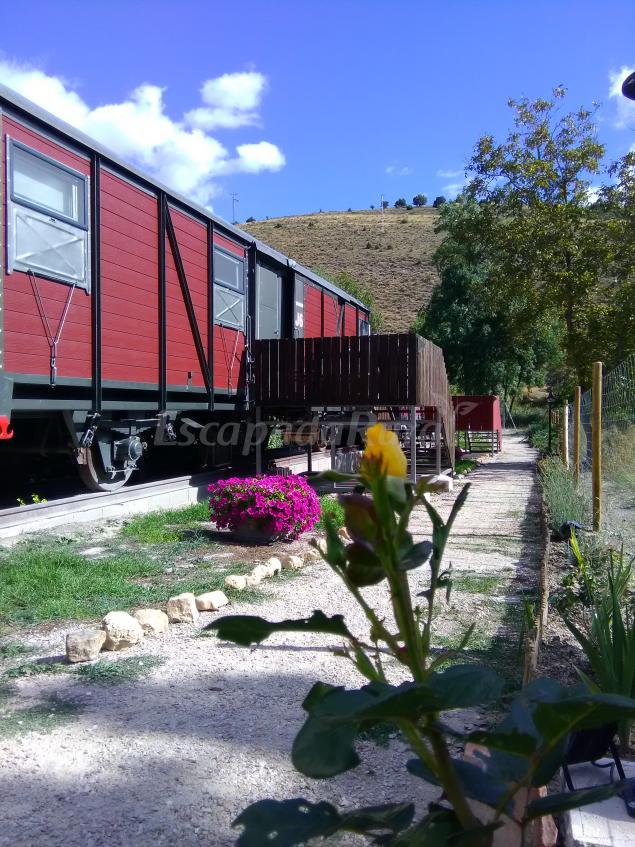 El Vagon De Baides Casa Rural En Baides Guadalajara