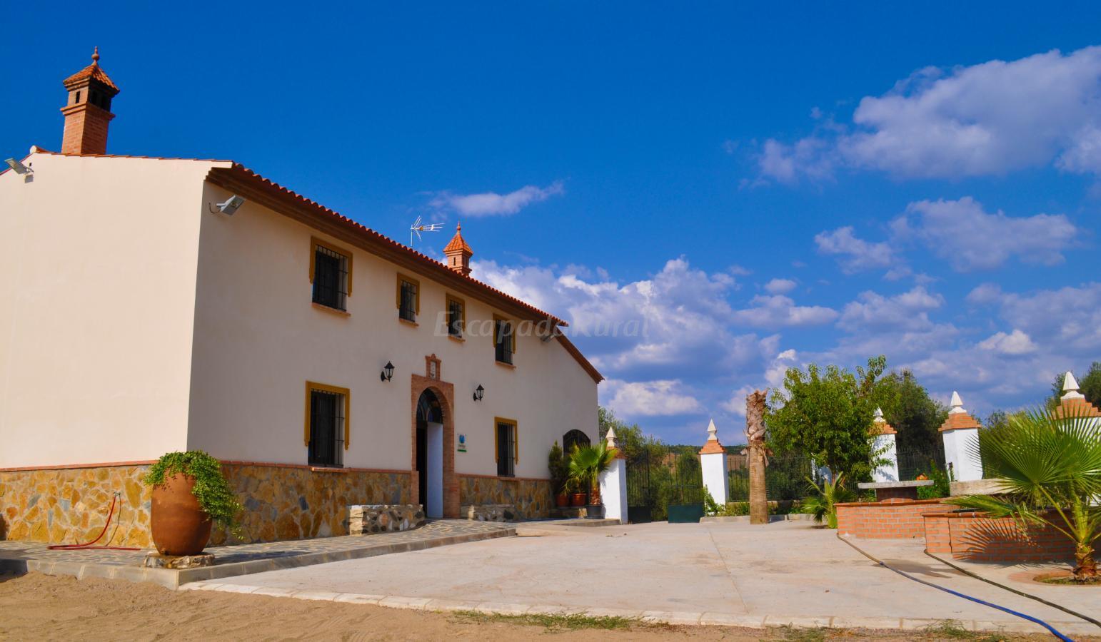 fotos de casa rural la galvana aracena casa rural en