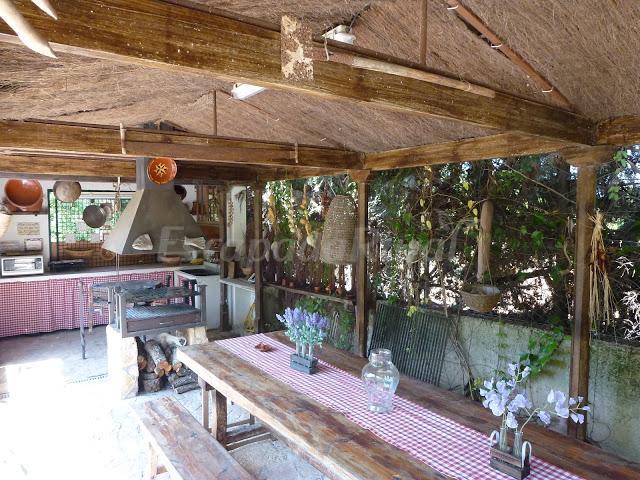 Fotos de finca tramuntana casa rural en costitx islas - Porches con barbacoa ...