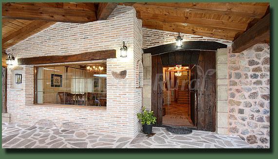 Fotos de casa el olmo casa rural en el rasillo de - Entradas de casas rusticas ...