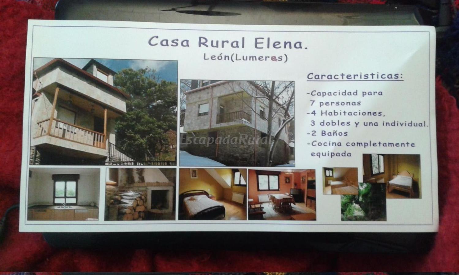 Fotos de casa rural elena casa rural en lumeras le n - Casa rural santa elena ...