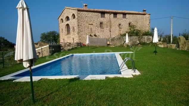 Masia rovira casa rural en pinell de solson s lleida - Casas rurales lleida piscina ...