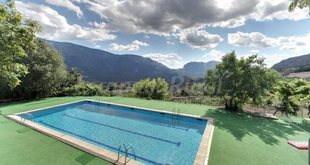 Casa roca casa rural en gavet de la conca lleida - Casas rurales lleida piscina ...
