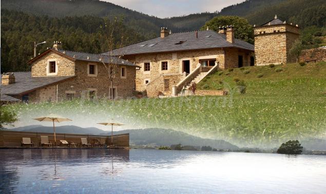 Fotos de areal casa rural en viveiro lugo for Casa rural lugo piscina