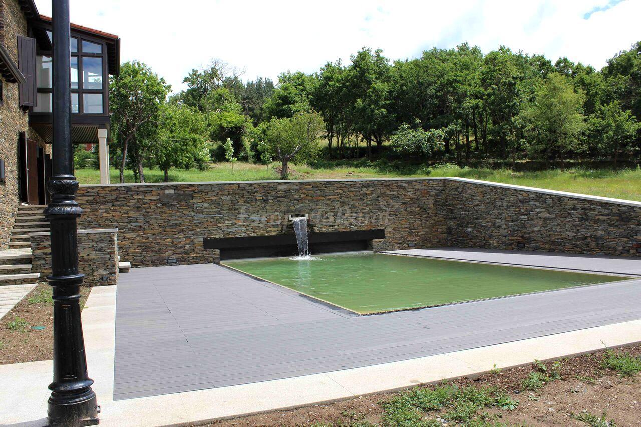 Fotos de casa pro pantea casa de campo monforte de for Casa rural lugo piscina