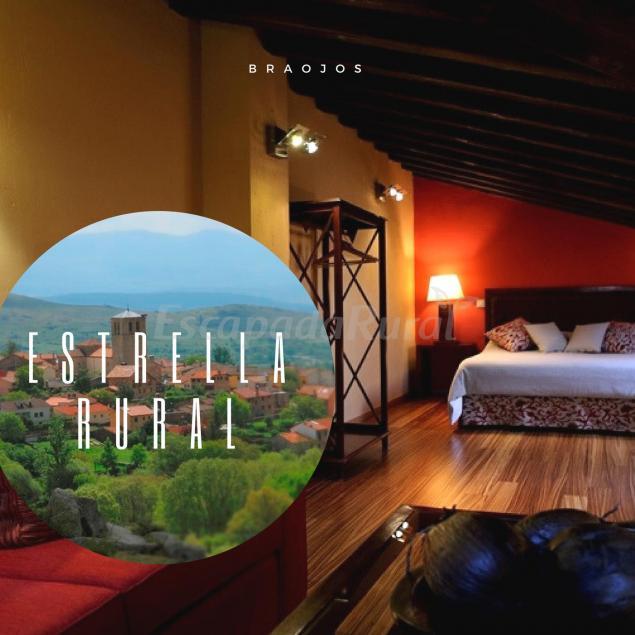 Fotos de estrella rural casa rural en braojos de la sierra madrid - Casas con parcela baratas cerca de madrid ...