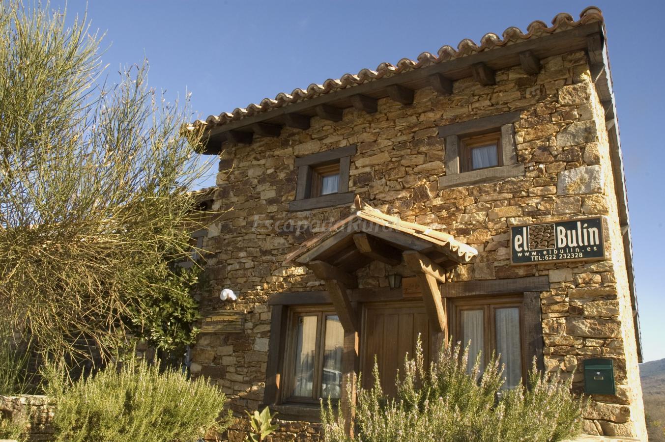 Fotos de el bulin de horcajuelo casa rural en horcajuelo for Casa rural romantica madrid