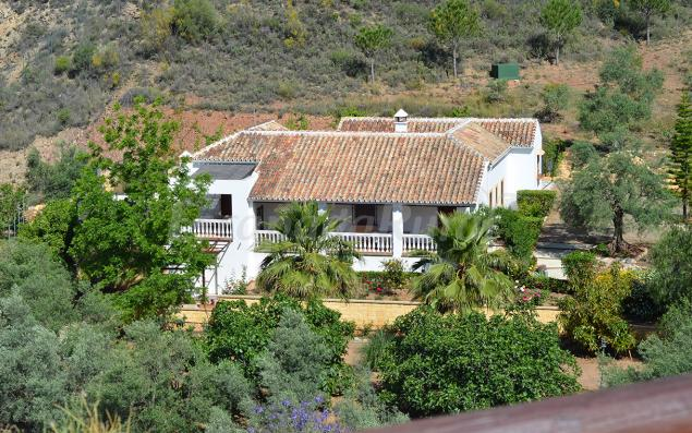 Casa rural los almendros casa rural en almog a m laga - Casa rurales malaga ...
