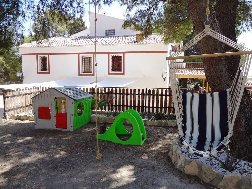 Fotos de casa del pino casa rural en aledo murcia for Casa jardin murcia