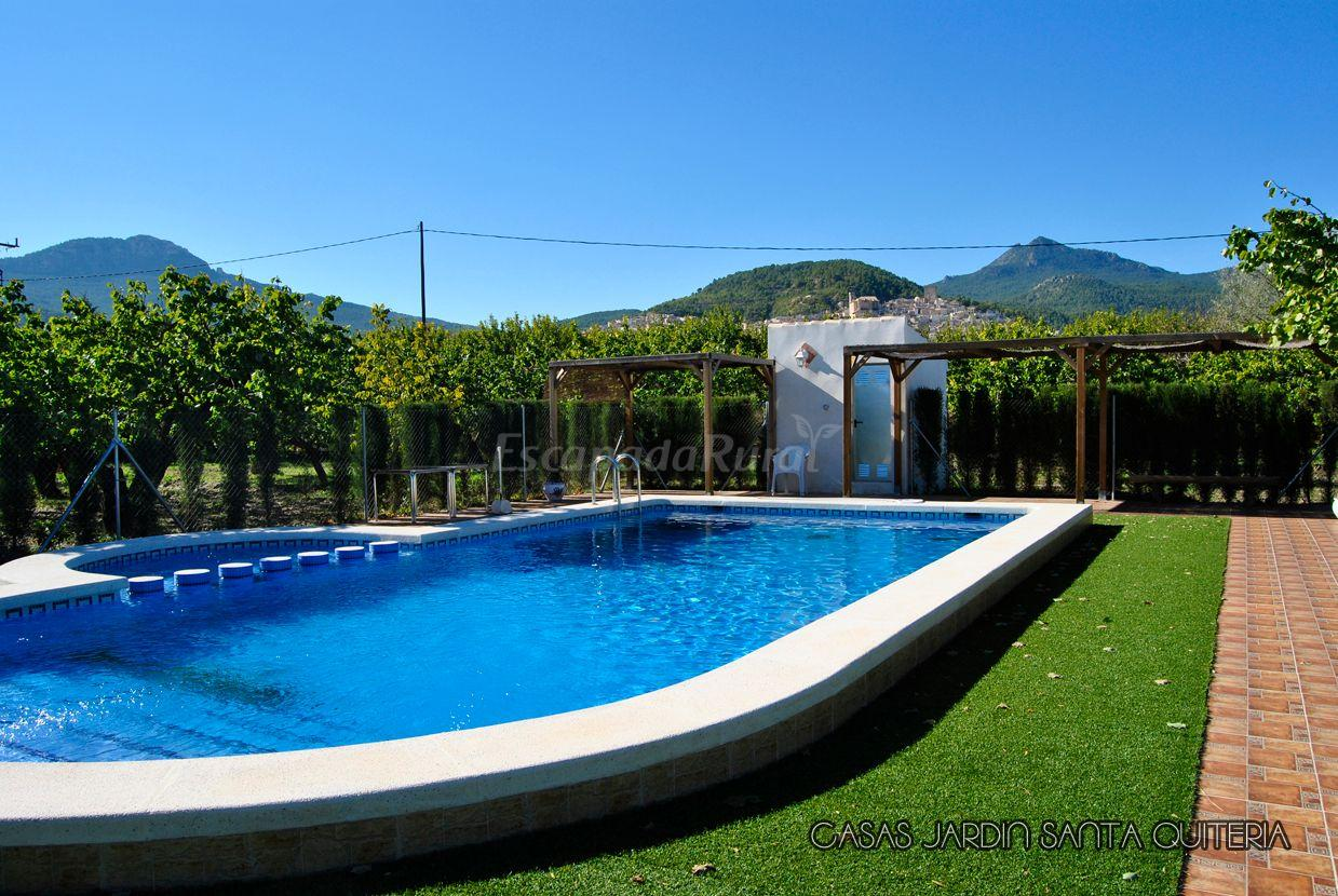 Fotos de el jard n de santa quiteria i y ii casa rural for Casa jardin murcia