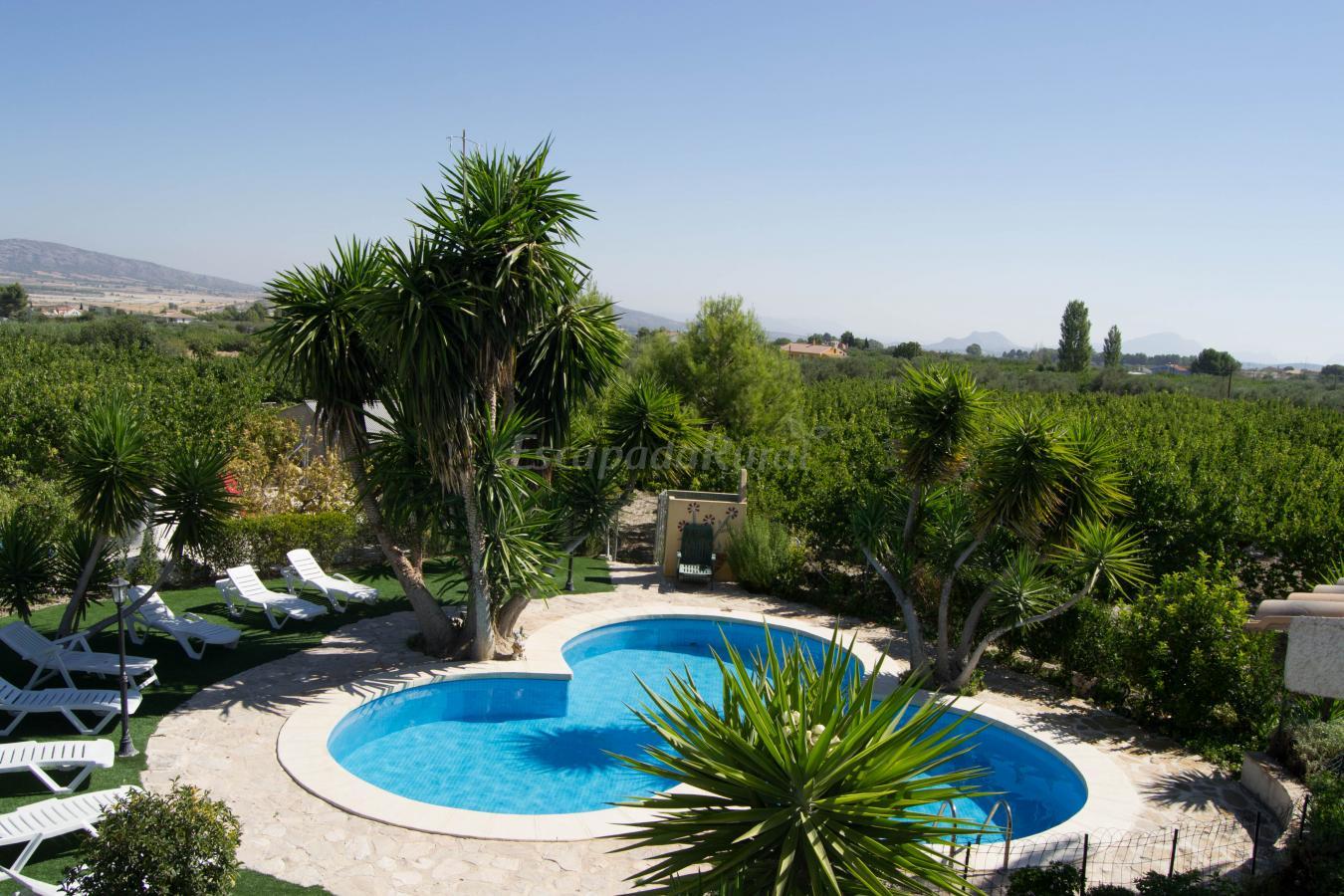 Fotos de casa mayo el toliano casa rural en moratalla - Casa rural murcia piscina climatizada ...