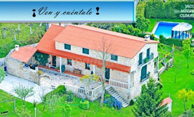 Casa Rural Os Carballos Casa Rural En Barro Pontevedra