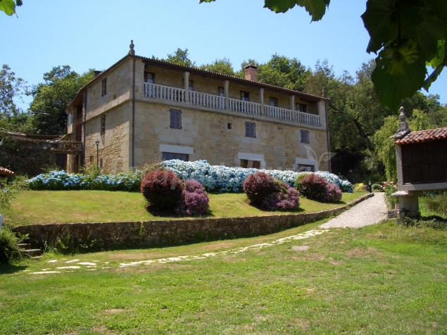 Casa grande de fuentemayor casa rural en silleda pontevedra - Casa rural silleda ...