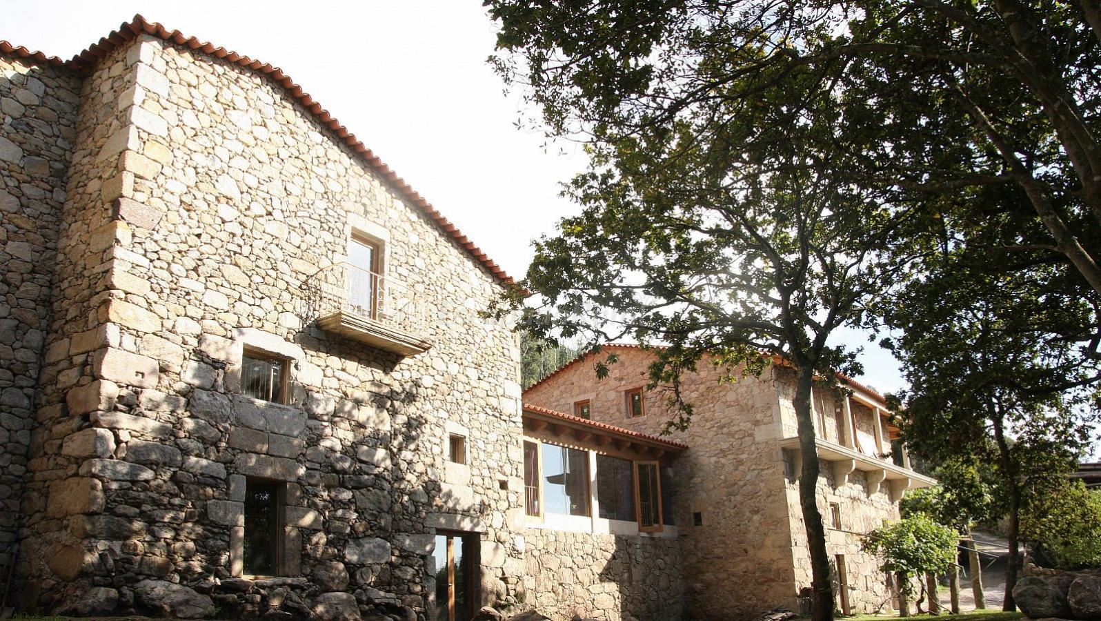 Fotos de casas do sobral casa de campo em oia pontevedra - Casas prefabricadas pontevedra ...