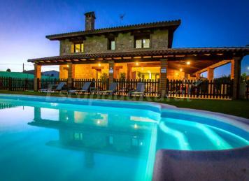 Casa rural miraconcha casa rural en villar de la yegua for Casas rurales castellon con piscina