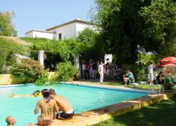 Huerta la cansina alojamientos rurales casa rural en for Alquiler de casas con piscina en sevilla