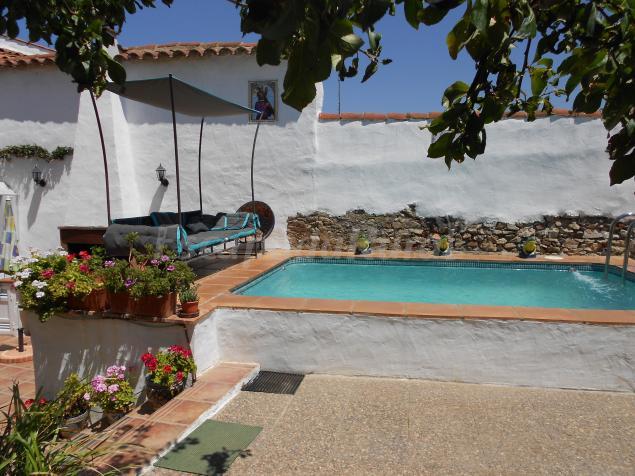 La casa del real casa rural en el real de la jara sevilla for Casa rural sevilla piscina