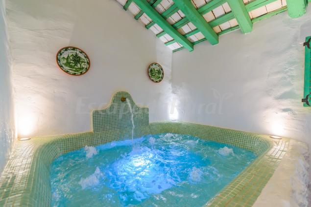Jacuzzi Exterior Sevilla.Casa Spa De La Mariola Casa Rural En La Puebla De Los