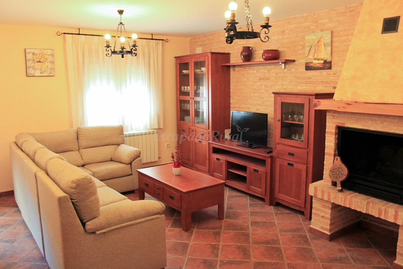 Fotos de casa del castro casa rural en piquera de san esteban soria - Casas rurales en san sebastian baratas ...