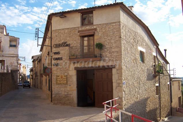 Lo celler casa rural en arnes tarragona for Casa rural tarragona