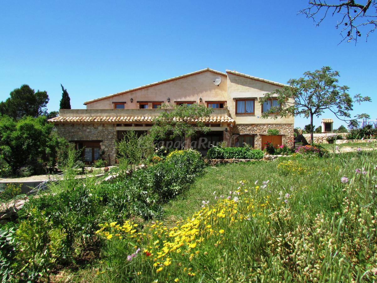 Fotos de mas del pi casa rural en el perell tarragona for Casa rural tarragona