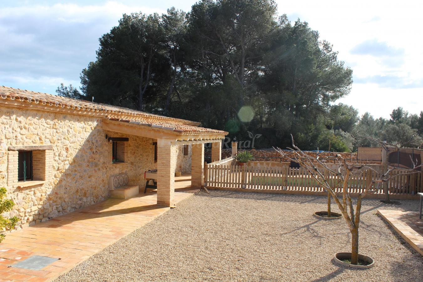 Fotos de melivent alojamientos rurales casa rural en l 39 ametlla de mar tarragona - Casa rural ametlla de mar ...