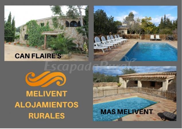 Melivent alojamientos rurales casa rural en l 39 ametlla de mar tarragona - Casa rural ametlla de mar ...