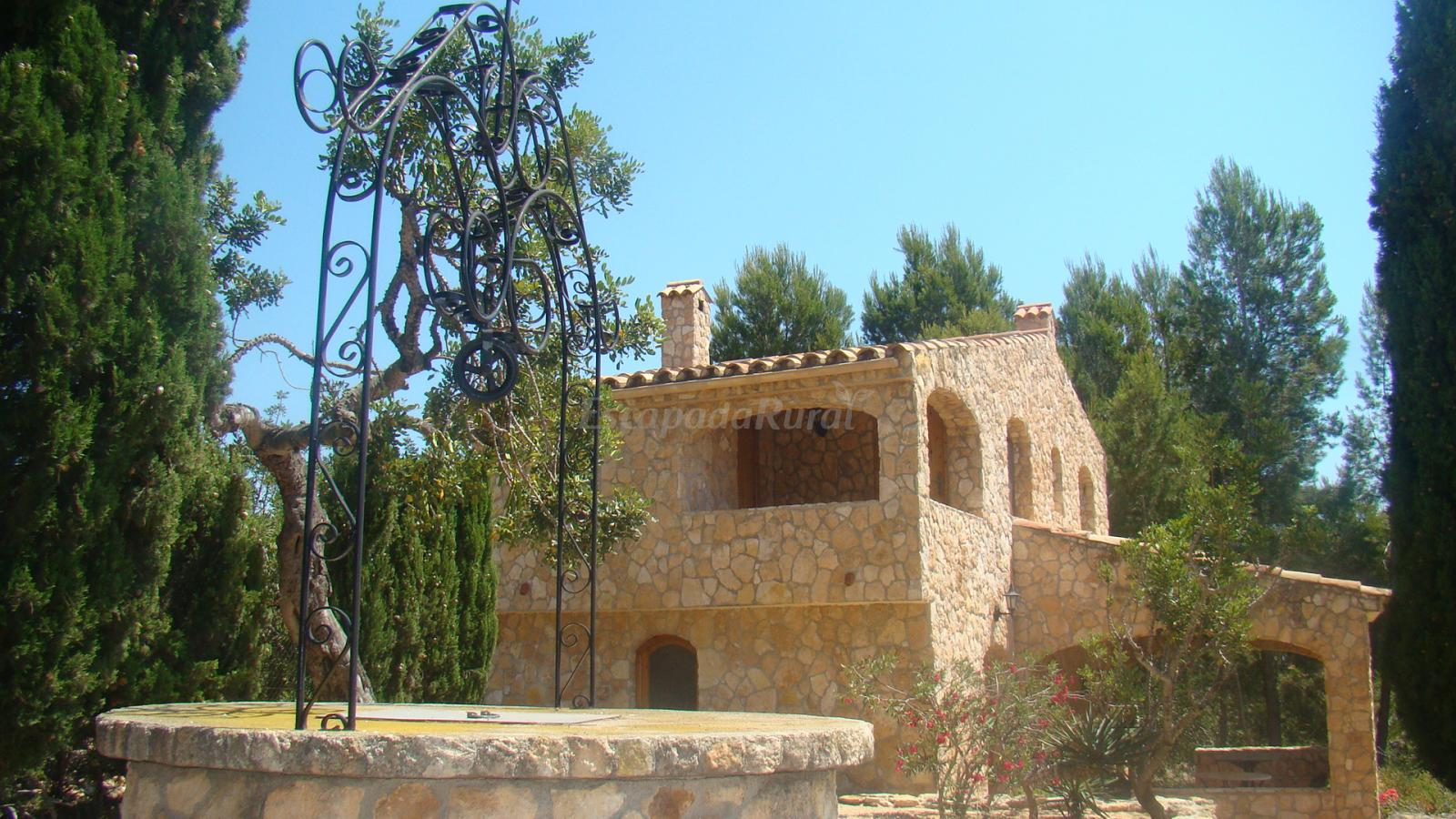 Fotos de casa de camp els pins casa rural en l 39 ametlla de mar tarragona - Casa rural ametlla de mar ...