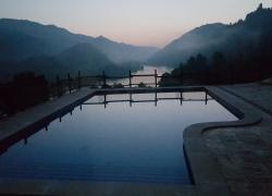 Sunrise over Pool
