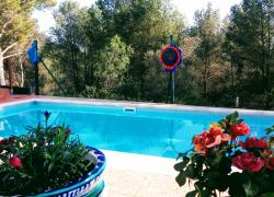 Piscina exterior 6mx3m escalon...