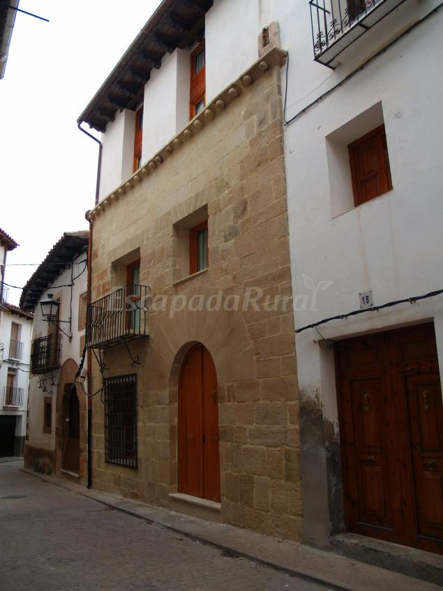 Casa 1340 casa rural en mora de rubielos teruel - Casas rurales rubielos de mora ...