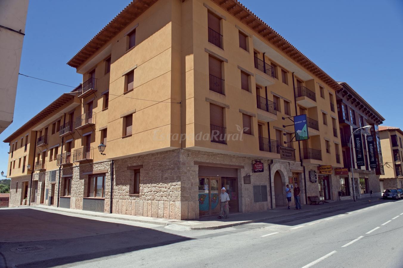 Foto di apartamentos tur sticos la trufa negra casa - Casas rurales rubielos de mora ...