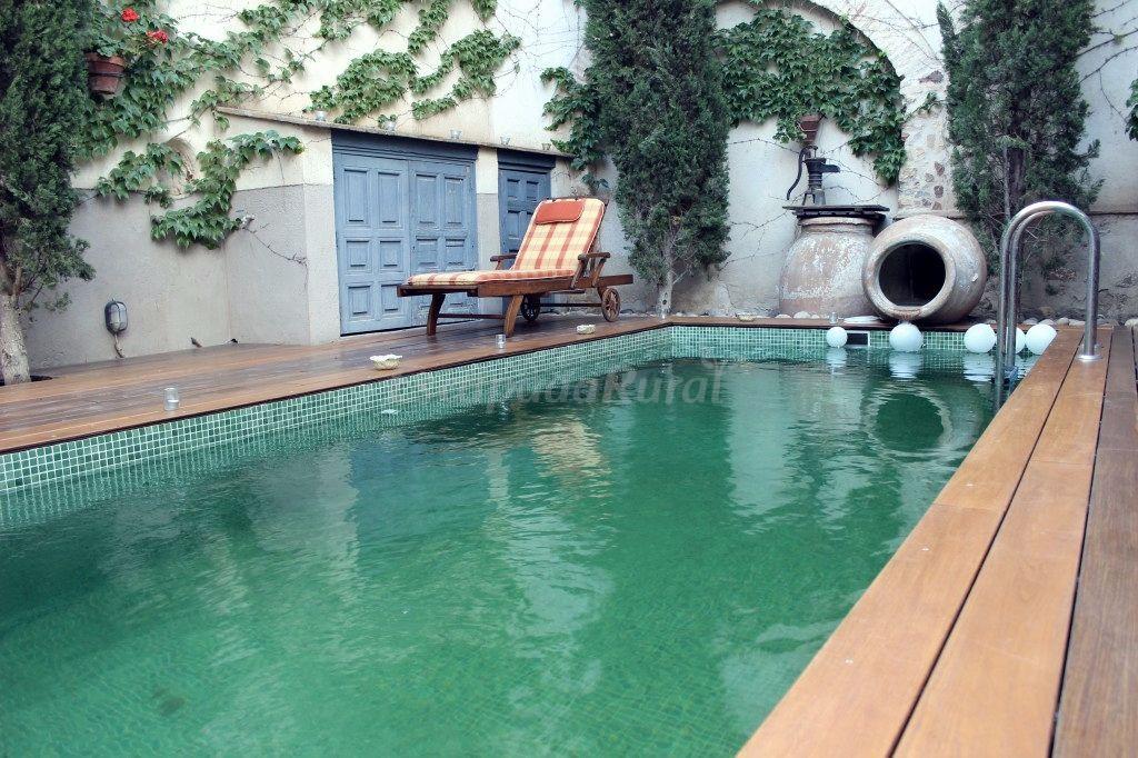 Fotos de hotel rural la vida de antes casa rural en consuegra toledo - Casa rural toledo piscina ...