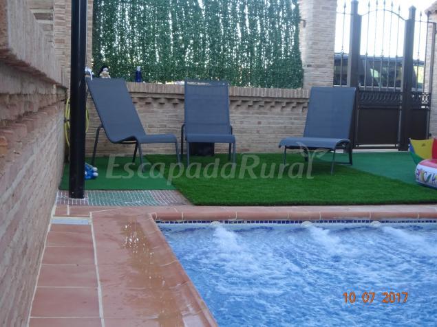 Casa rural la higuera i casa rural en pulgar toledo - Casa rural toledo piscina ...
