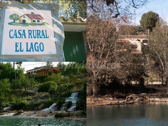 Casa rural el lago casa rural en anna valencia for Cabanas en los arboles comunidad valenciana
