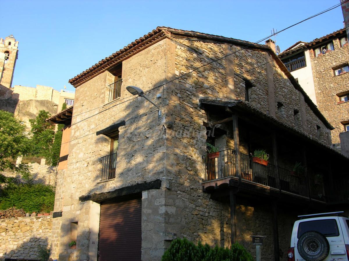 Fotos de la casa gran casa rural en castielfabib valencia - Casa rural ademuz ...