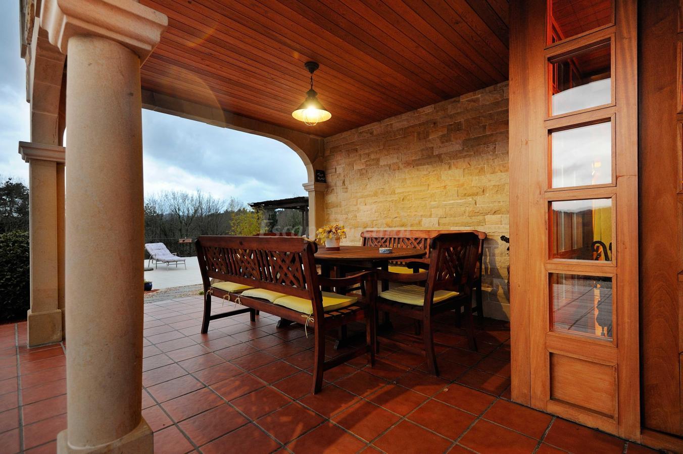 Foto di la casa de madera casa rural en arrieta vizcaya for La casa de madera