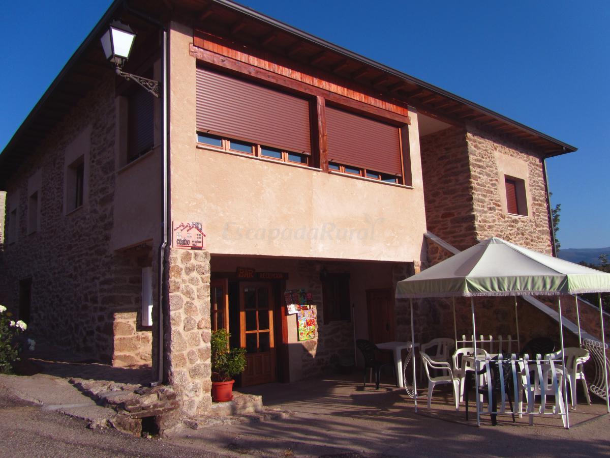Fotos de caba as maleixas casa rural en el puente zamora for Bar restaurante el jardin zamora