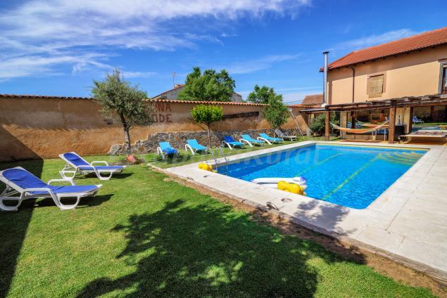 31 casas rurales con piscina en zamora for Casas rurales malaga con piscina